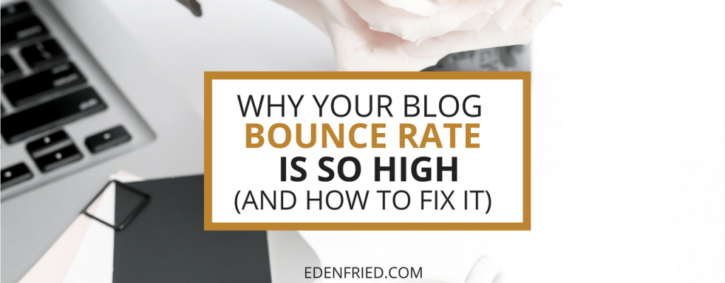 Blog Bounce Rate