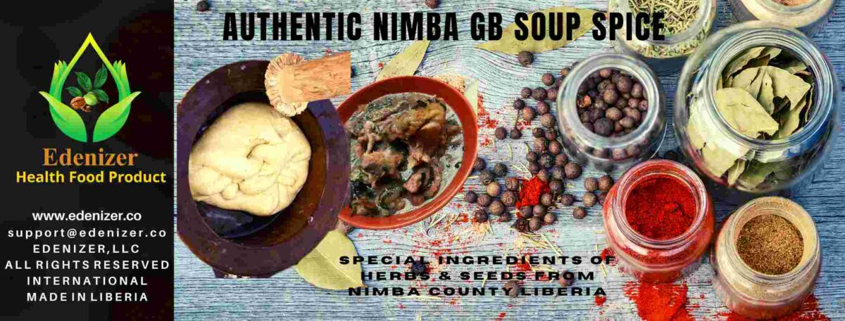 Authentic Nimba GB Soup Spice
