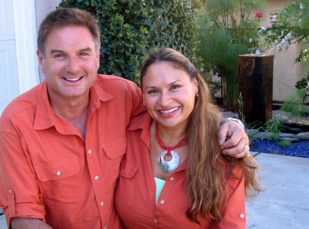 Michael Glassman and Shirley Bovshow are the Garden Police