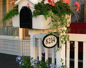 creative mailbox planters