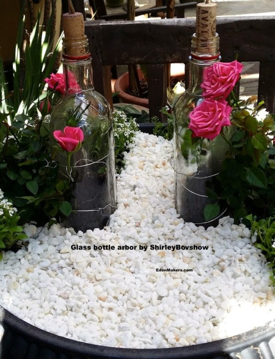 white-pebbles-container-garden-edenmakers