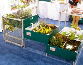 Portable garden planter