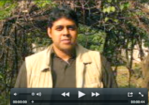Tarek Rahman is a landscaper in Bangladesh and contributor to Garden World Report Show