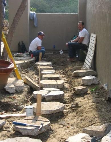 pathway-construction