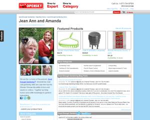 """Good Enough Gardening"" OpenSky online store"