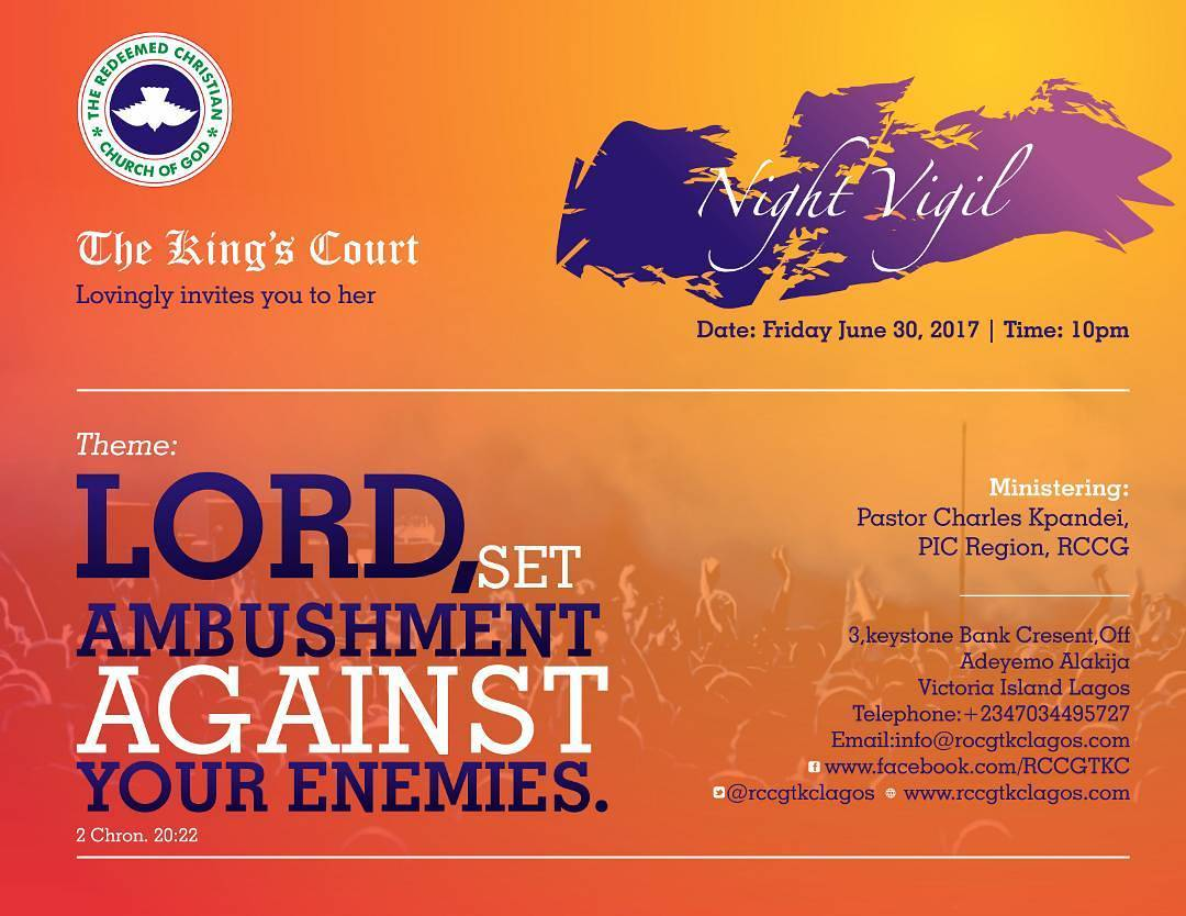 RCCG THE KING'S COURT