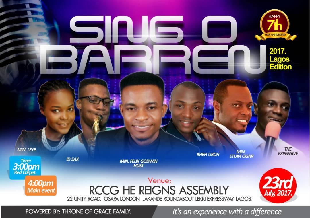 SING O BARREN 2017