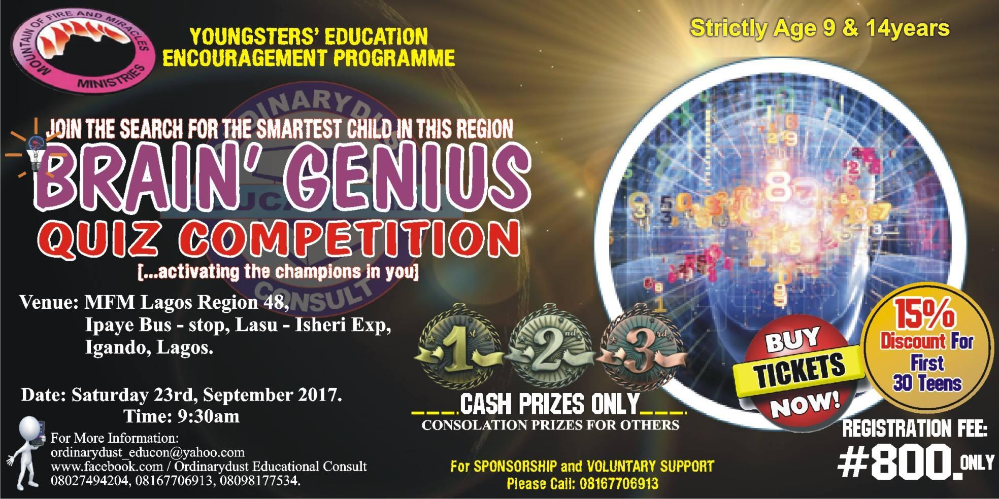 Region 48 Brain Genius