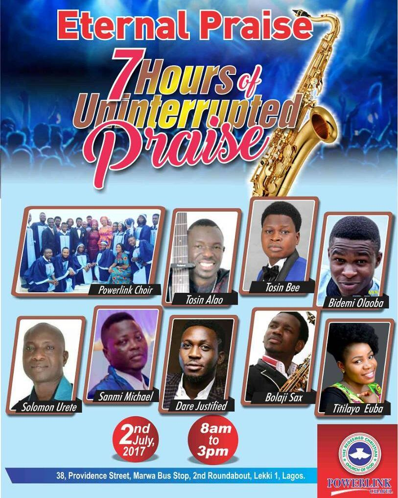 7 HOURS OF UNINTERRUPTED PRAISE