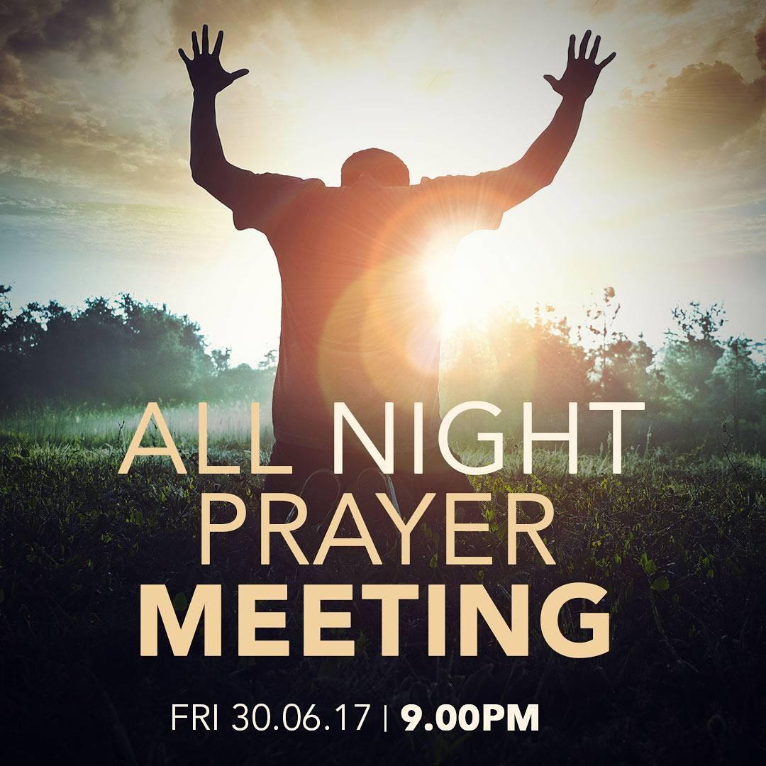 All Night Prayer Meeting Eden Nigeria