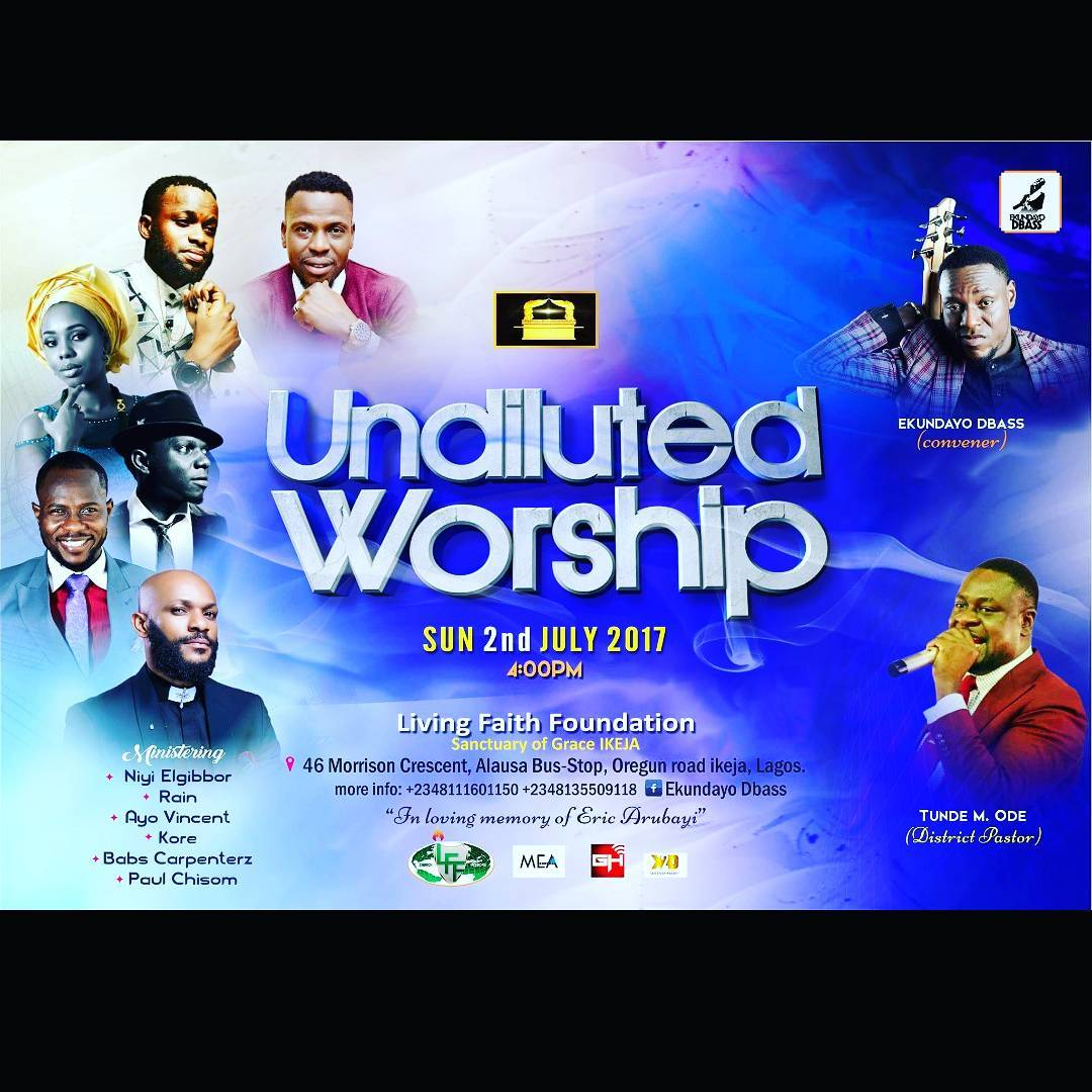 UNDILUTED WORSHIP