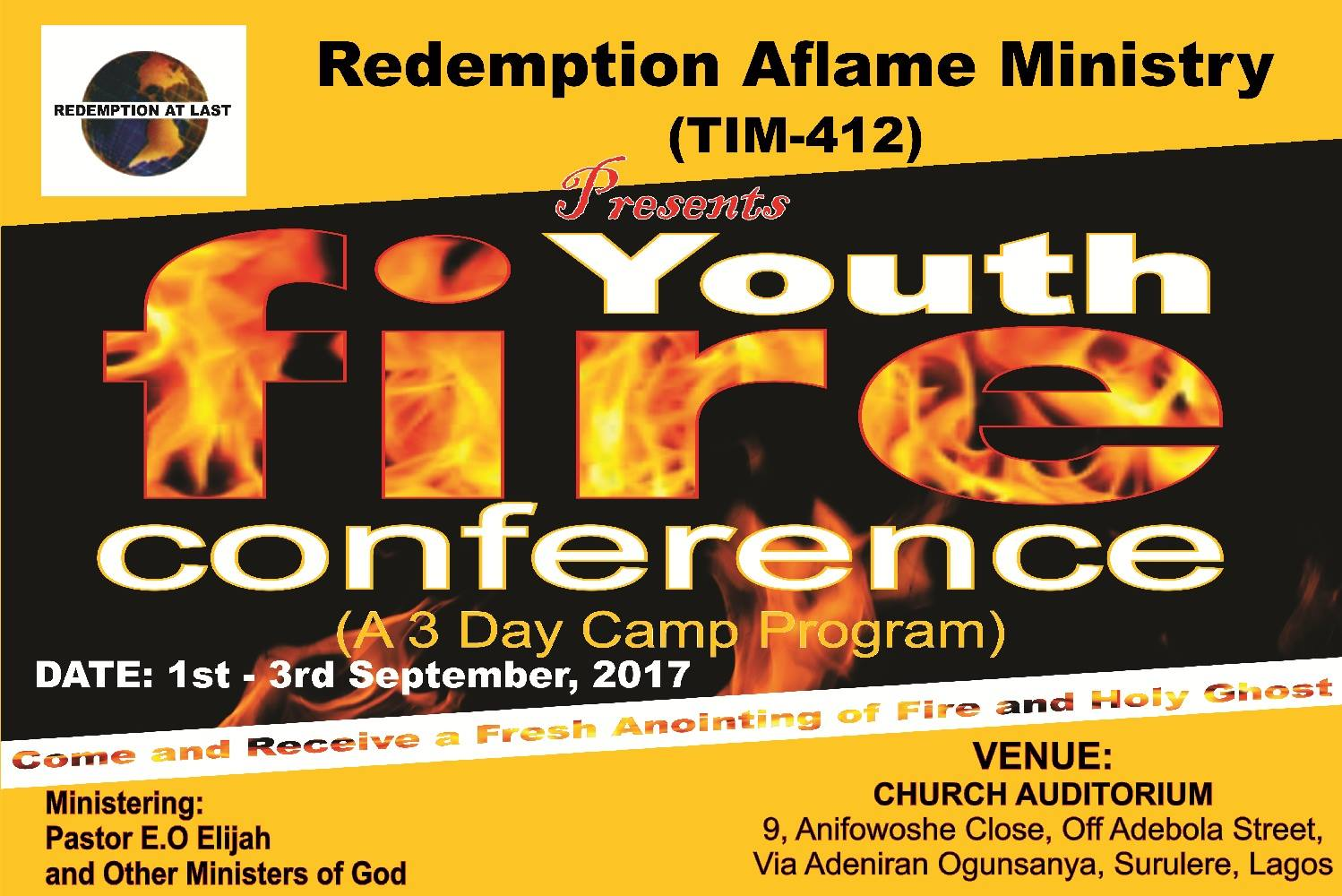 Youth Fire Conference
