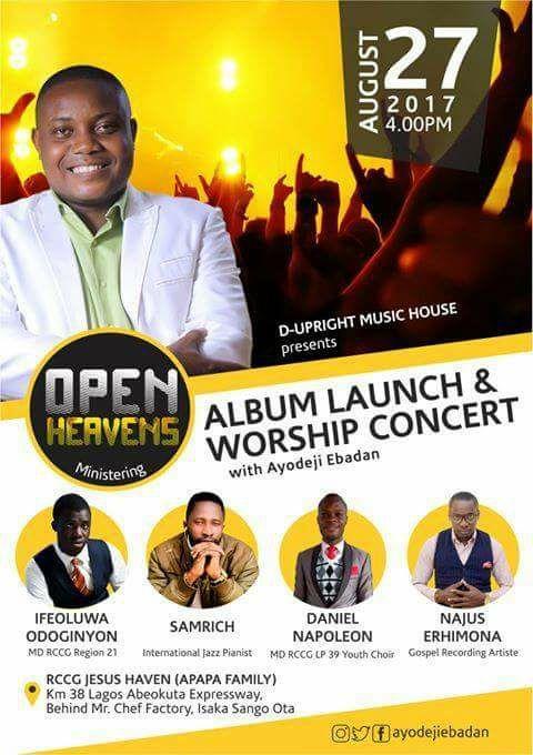 Open Heavens: Album Launch & Worship Concert