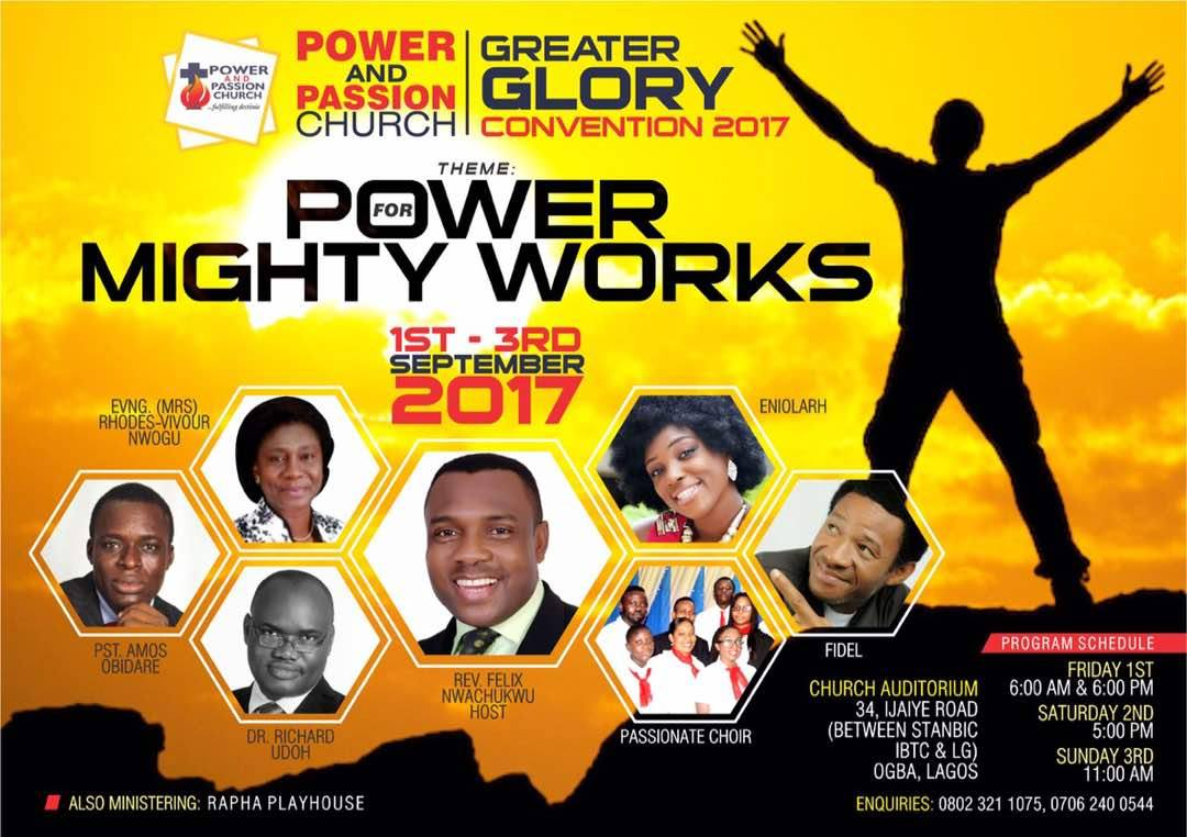 Greater GLORY Convention 2017