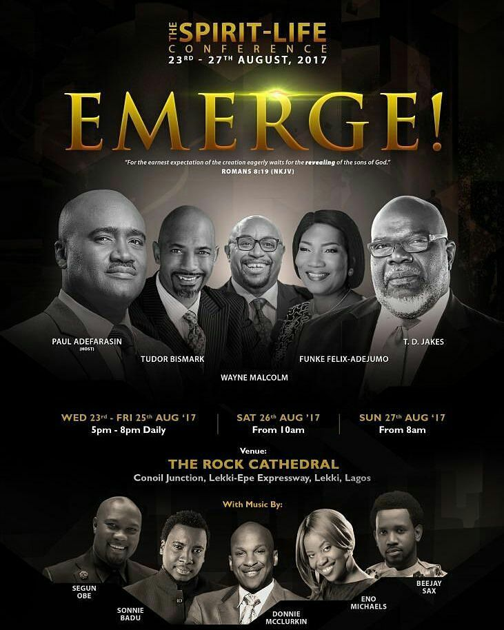 THE SPIRIT LIFE CONFERENCE - EMERGE