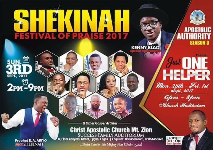 SHEKINAH Festival of Praise 2017 0.2