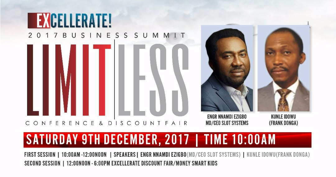 EXCELLERATE! 2017- LIMITLESS