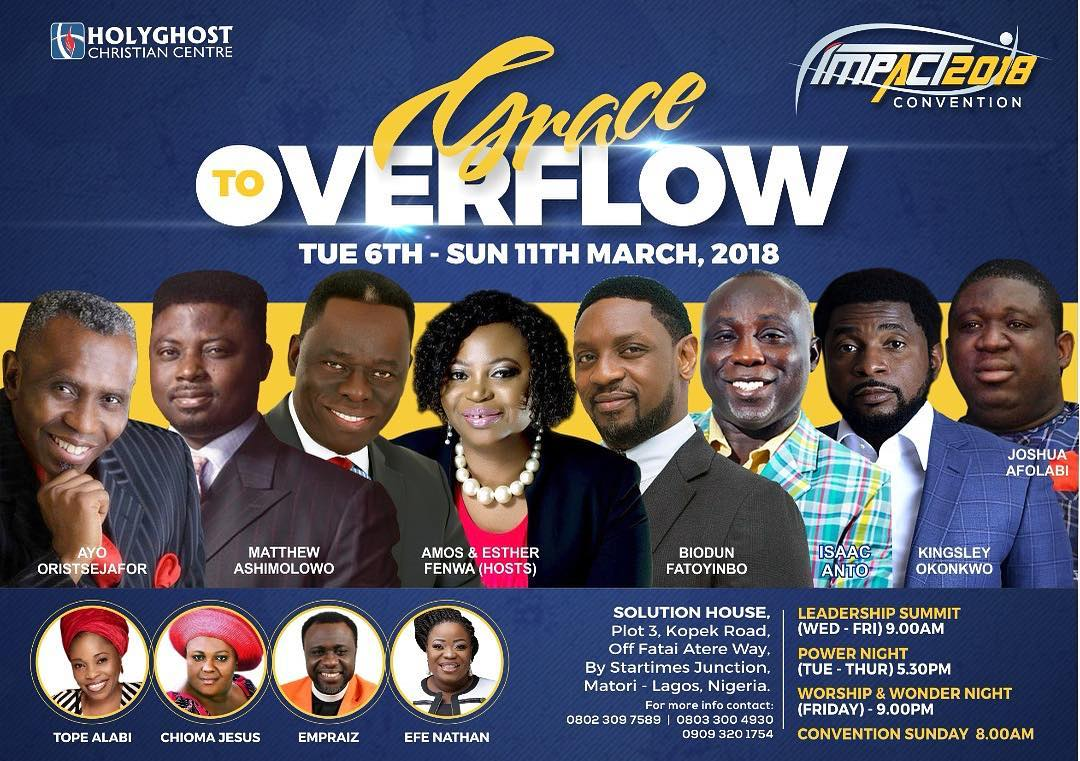 GRACE TO OVERFLOW - IMPACT 2018