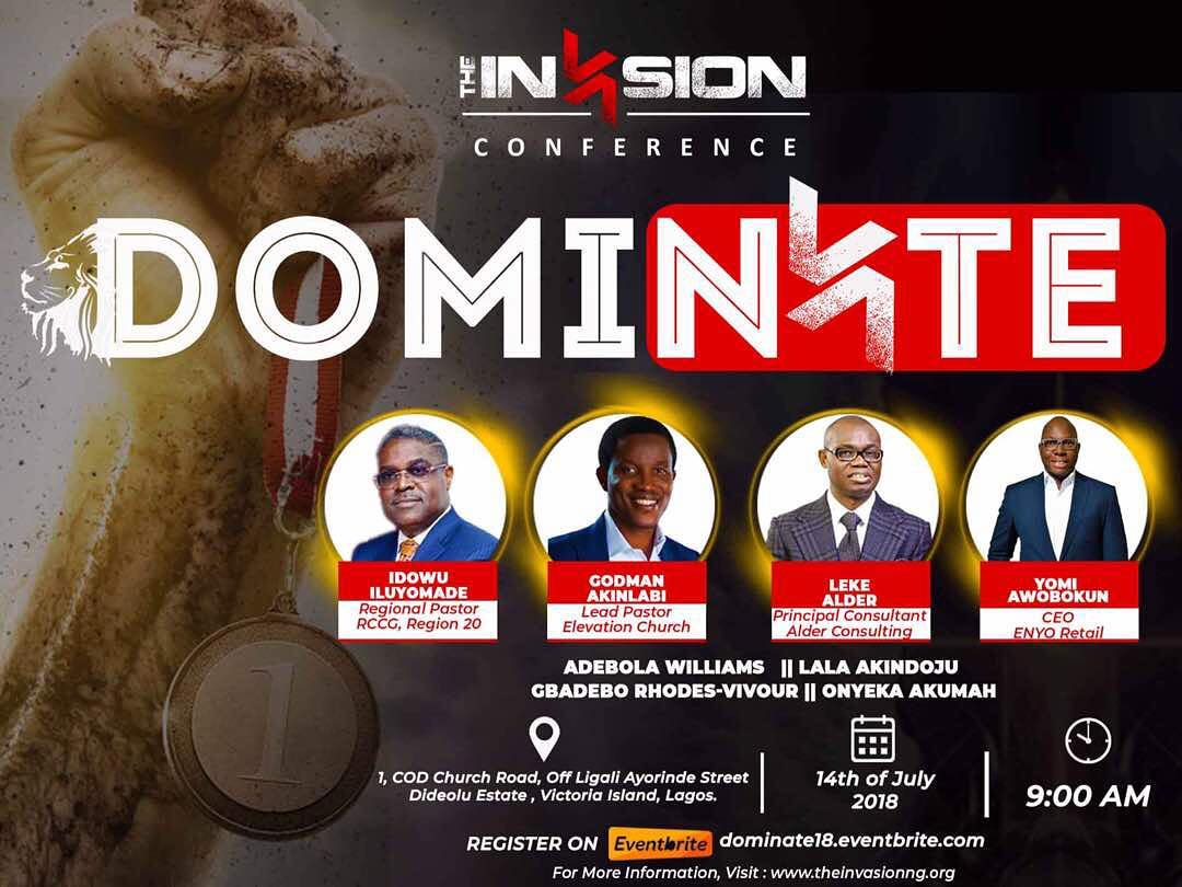 THE INVASION CONFERENCE 2018