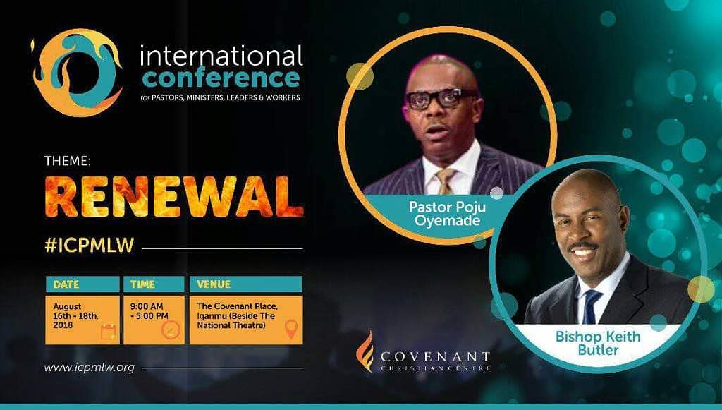 INTERNATIONAL CONFERENCE FOR PASTORS, MINISTERS, LEADERS AND WORKERS