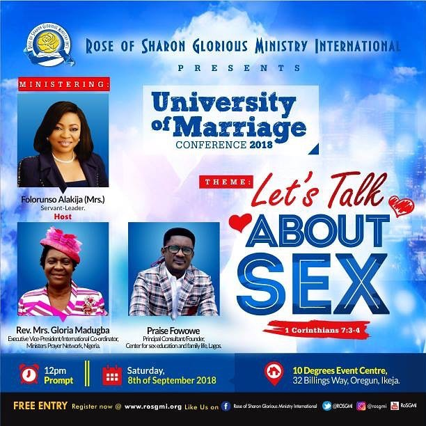UNIVERSITY OF MARRIAGE CONFERENCE 2018