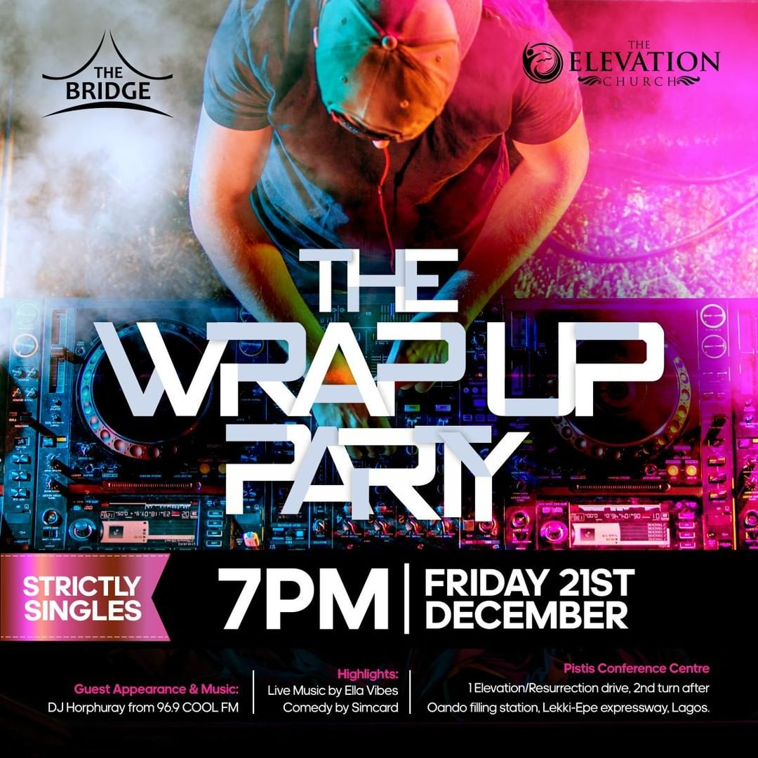 THE WRAP UP PARTY
