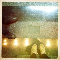 obligatory feet