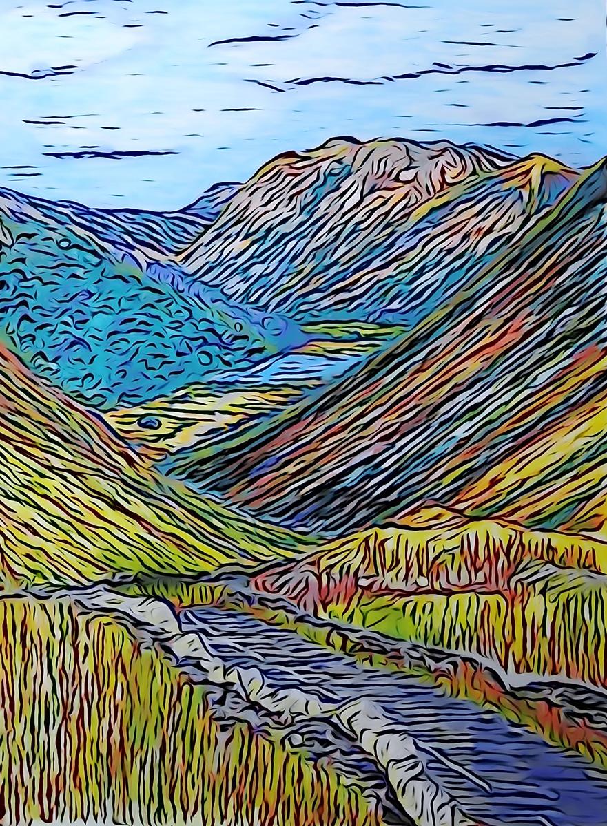 Kirkstone Pass by Natalie Burns