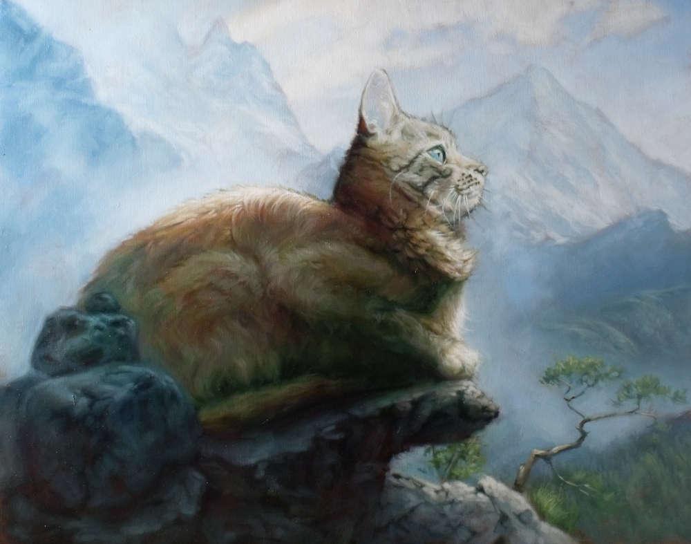 Mountain Cat by John Holmes