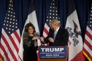 Trump and Palin: BFFs