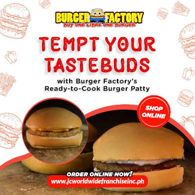 Order ready-to-cook burger patties