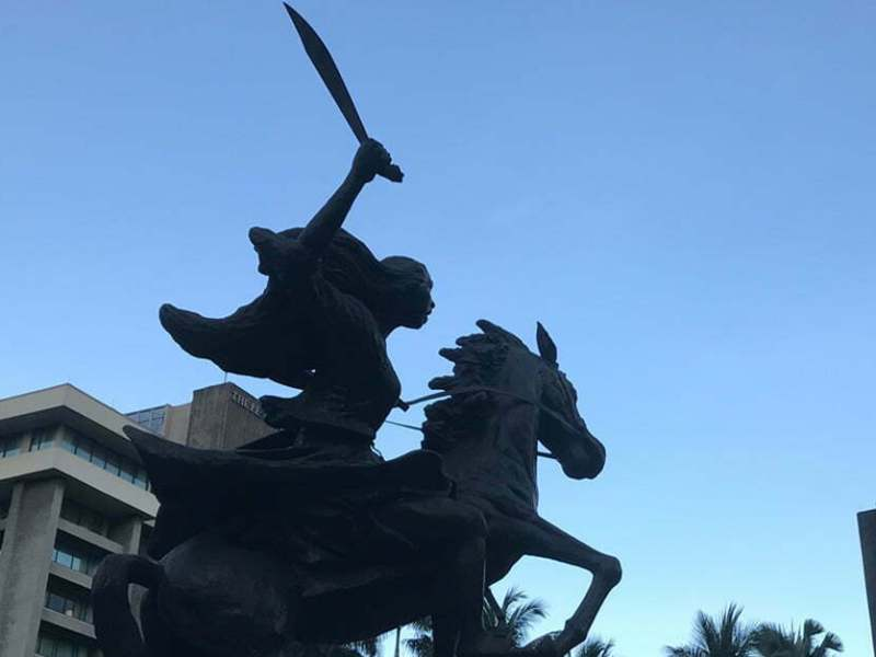 Monumento ni Gabriela Silang sa Makati