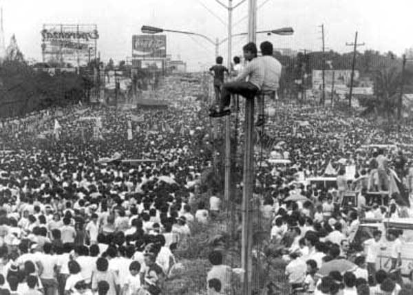 EDSA Revolution by Joey de Vera