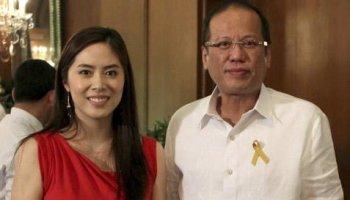 Grace Lee at Noynoy Aquino