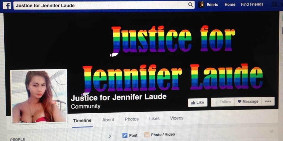 Justice for Jennifer Laude Facebook page