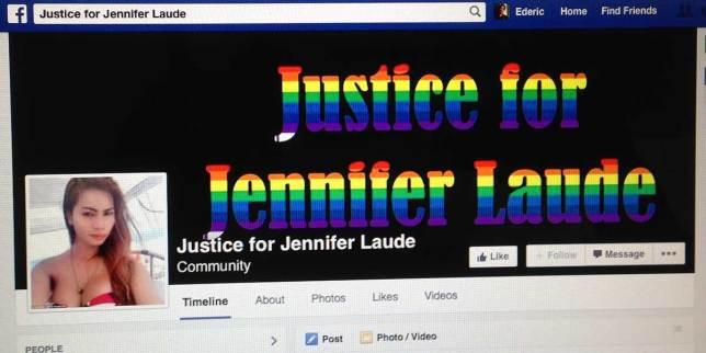 Jeffrey Laude o Jennifer Laude?