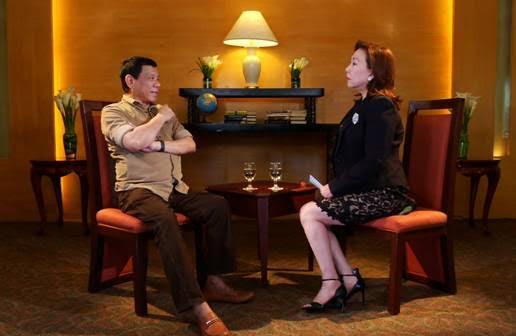 "Rodrigo Duterte and Mel Tiangco on ""Wanted: President"""
