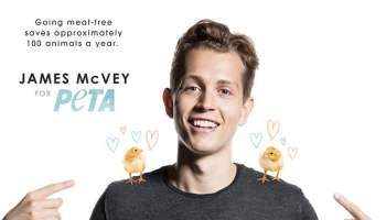 The Vamps' James McVey for PETA