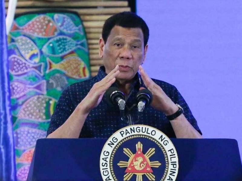 Rodrigo Duterte in Puerto Princesa
