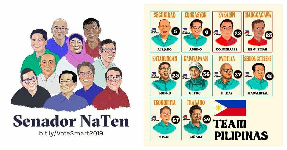 Team Pilipinas: Senador NaTen