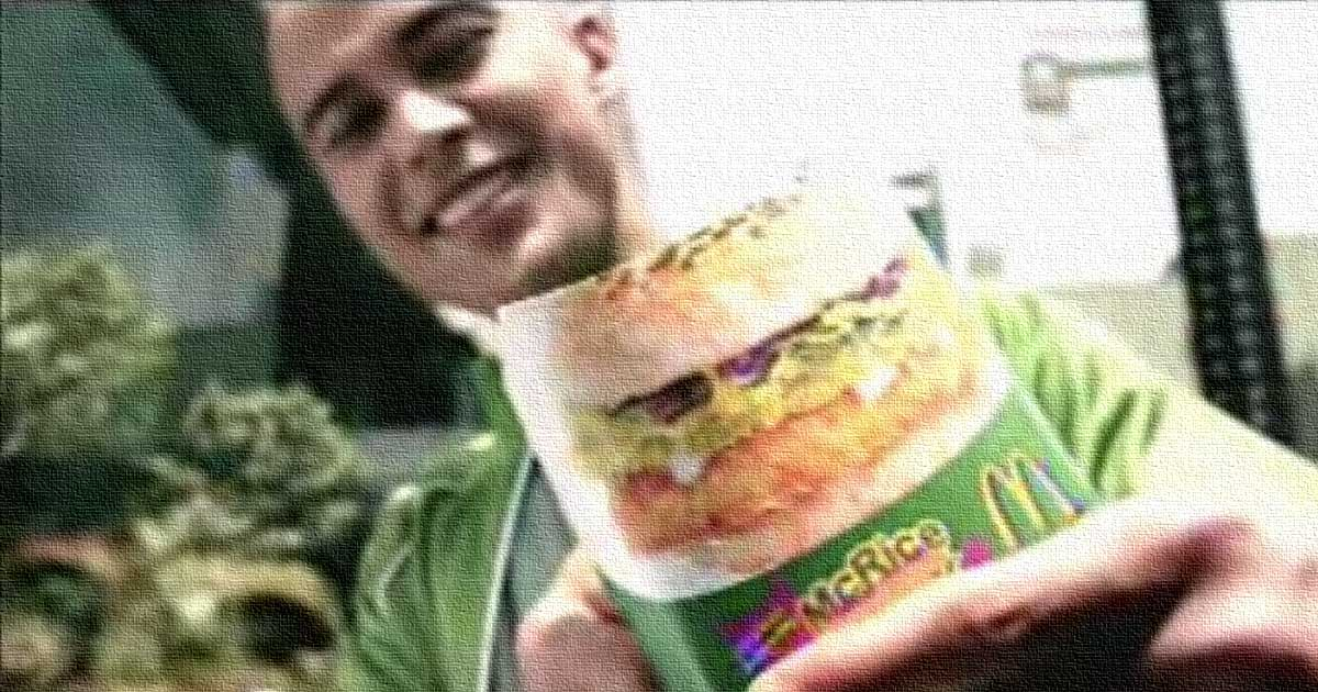 Will Devaughn & McDonalds McRice Burger