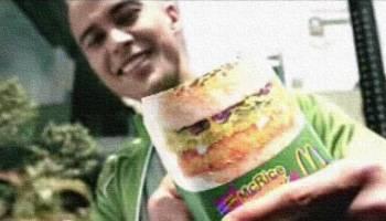 Will Devaughn & McDonalds McRice Burger