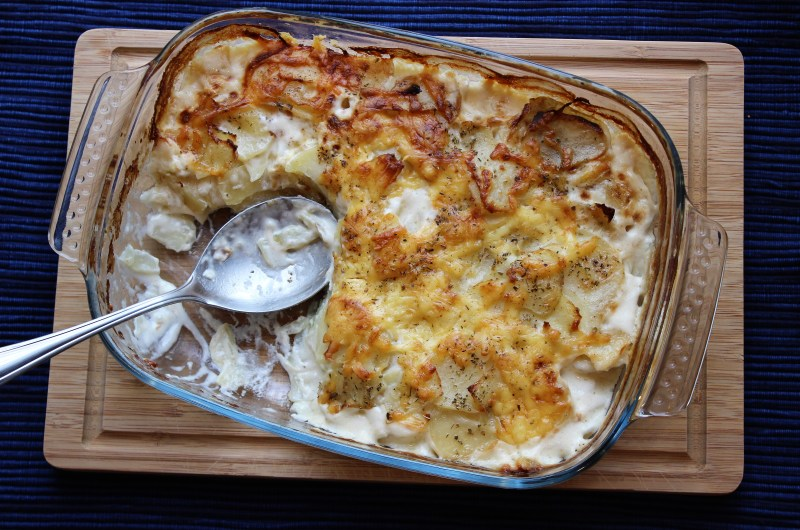 Classic Potatoes au Gratin