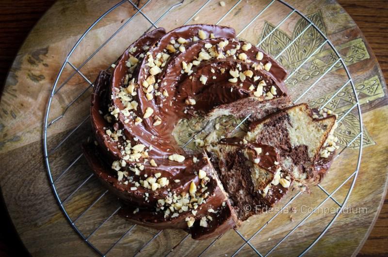 Banana-Chocolate Swirl Cake