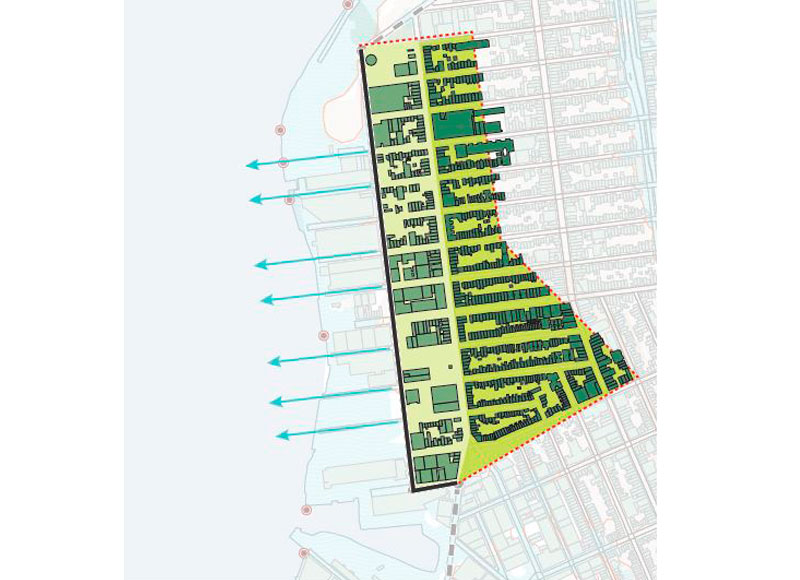 Brooklyn Greenway, New York City. Green Infrastructure Design by eDesign Dynamics