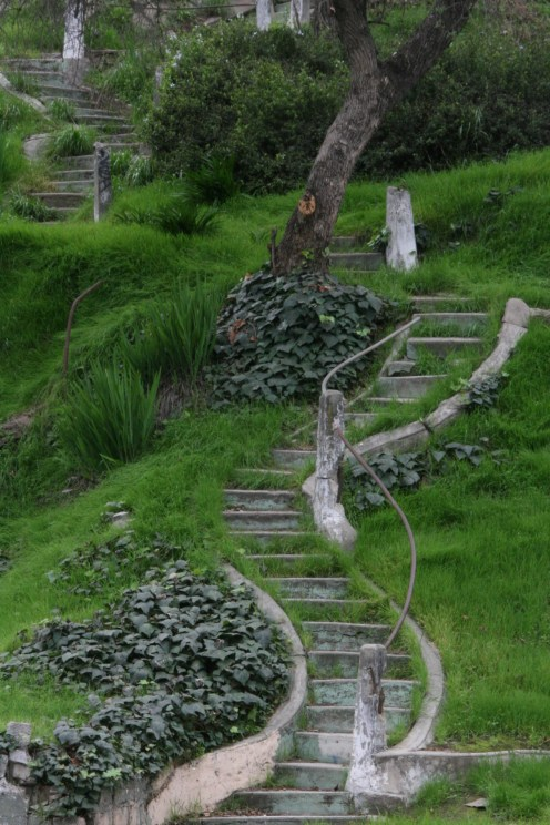 Park Stairs, L.A.