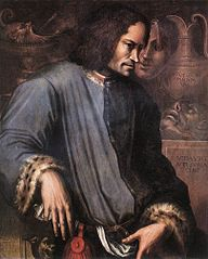Lorenzo by Vasari - Medici Florence Botticelli Adoration