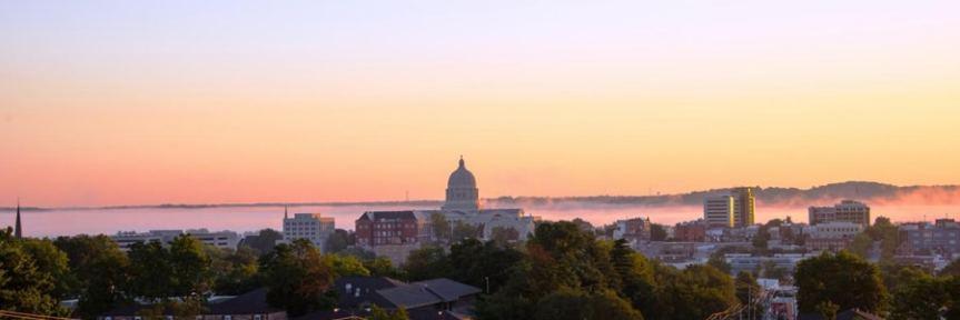 Banner - sunrise on the Missouri - limerick story Jeff Shakespeare
