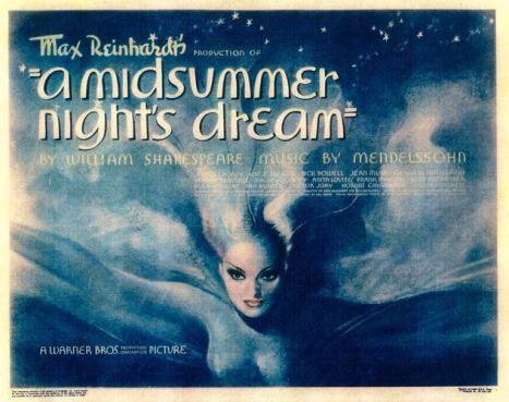 MND lobby card - Midsummer Night's Dream 1935