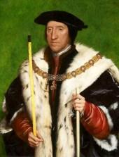 3rd Duke Thomas by Holbein - guide Howard dukes Norfolk